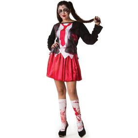Fantasia Halloween Feminina Zumbi - Fantasias no Mercado Livre Brasil 6f2901a53f