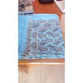 Paliacates Pañuelos Azul Claro Estampados