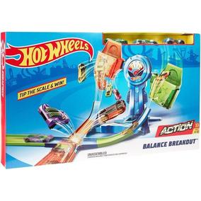 Hot Wheels Action Pista Desafio De Equilíbrio Extremo Mattel