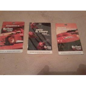 3 Credenciales Del Malboro Racing School Año 2005!!