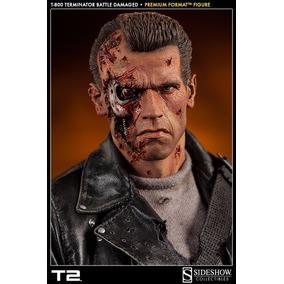 Terminator 2 T-800 Battle Damaged - Premium Format Statue