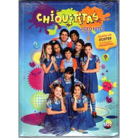 Dvd Chiquititas Vídeo Hits Digipack Lacrado Frete R$ 12,00