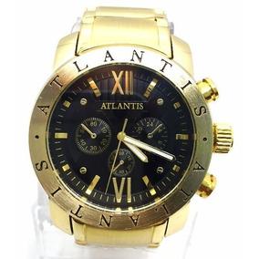 Relogio Bulgaria - Relógio Atlantis Masculino no Mercado Livre Brasil 46df1a6943