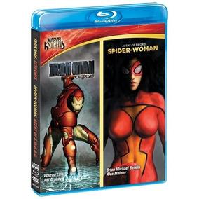 Blu-ray Homem De Ferro Extremis + O Beijo Da Mulher-aranha