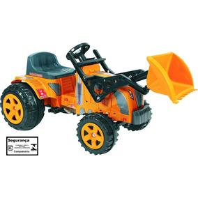 Mini Trator A Pedal Infantil Fazendeiro Com Pá 317 Biemme