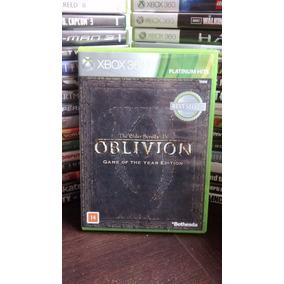 Xbox 360 - The Elder Scrolls Iv 4 Oblivion - Mídia Física