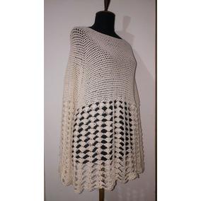 Como Hacer Remeras Caladas A Crochet - Remeras Manga Larga Blanco en ... f1ffae7af6838