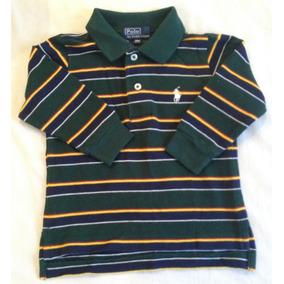 Camiseta Polo Ralph Lauren Listrada - Calçados bb652d9fd16