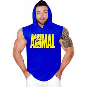 2fc06df719e04 Regata Cavada Com Capuz Animal - Camisetas no Mercado Livre Brasil