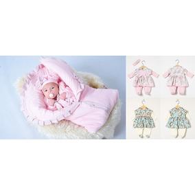 6c2d3d52ee108 Kit Saída Maternidade Menina Inverno E Macacão. R  218