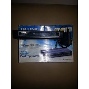 Switch Gigabit 5 Puertos Tp-link Tl-sg1005d