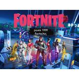 Fornite 1000 Pavos Pc/ps4/xbox/nintendo/ios Al Instante 24hs