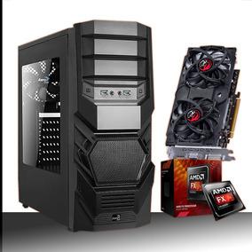 Pc Gamer Fx6300 + 4gb Mem + Hd320gb + Vga Gtx 550