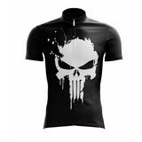 bc6f7bfe5d Camiseta Ciclista Justiceiro Com Protecao Uv - Scape