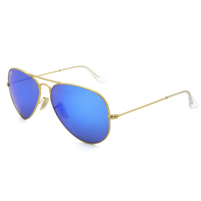 f6eba0a583384 17 Lente Azul Ray Ban Rb3025 Aviator Large Metal 112 - Óculos no ...