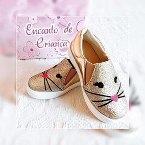 Sapato Gatinha Infantil