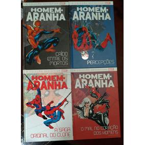 Marvel - Homem-aranha - Graphic Novel Vols 01 Ao 04