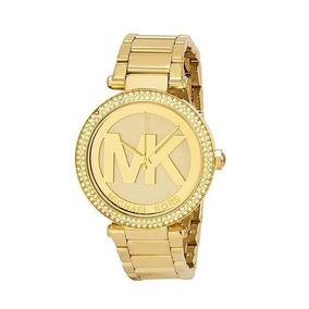 Relogio Feminino Dourado Original - Relógio Michael Kors Feminino no ... bb36922c33