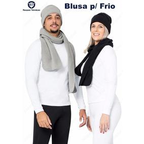 Camisa Segunda Pele Térmica Inverno Extremo Manga Longa Uv50