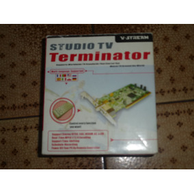 Tarjeta Tv Studio Tv Terminator