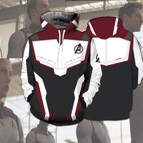 2019 Avengers : Endgame Cosplay Capucha Chaqueta Superhero A