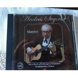Cd Andres Segovia Maestro