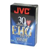 Fita Video Jvc Compact Vhs Tc-30ehgb Lacrada P/filmadora