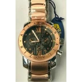 98fd791babd Relógio Atlantis Dourado Bvl - Relógios no Mercado Livre Brasil