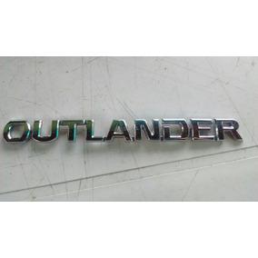 Emblema Letreiro Adesivo Outlander Original Usado