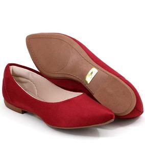 98c69dc96fb Sapatilha Da Shoes Camurça Bordo... - Sapatos no Mercado Livre Brasil