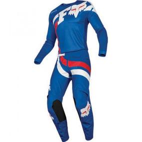 Conjunto Fox 180 Mako Blue Motocross - Acessórios de Motos no ... e87eccdf4ec
