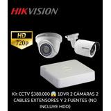 Kit Camras Hd 720p