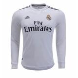 Real Madrid Manga Longa - Camisa Real Madrid Masculina no Mercado ... a795da0f7b12e