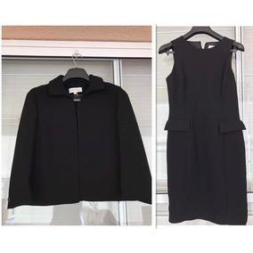 Calvin Klein Conjunto Terninho Vestido Preto