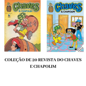 20 Revista Do Chaves E Chapolim Infantil Digital