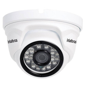 Câmera Segurança Ip Dome Intelbras Vip 1120 D G2 Rj45 720p