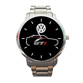 Relógio Personalizado Silhueta Gol Gti Vw Quadrado Frete