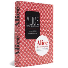 Box / Caixa Alice + Alice - Lewis Carrol - Cosac Naify