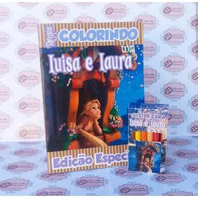 Revistinha De Colorir Enrolados Rapunzel Arquivo De Corte