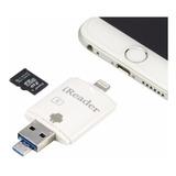 Leitor Cartão Micro Sd Para iPad iPhone 5 5c 5s 6 6s 7 Plus