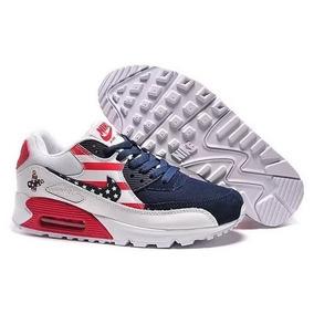 cd2bb54ee12 Tênis Nike Air Max 90 Super Fashion Envio Imediato Compre