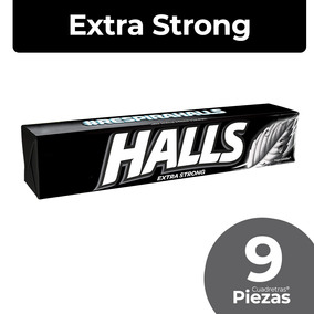 Halls Base Extra Strong