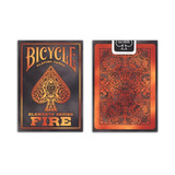 Juego Baraja Poker Bicycle Fire Element Series