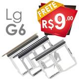 Bandeja Gaveta Chip Lg G6 H870 Slot Micro Sd Sim Card Nova
