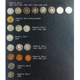Moneda 5 Centimos Colección Completa 21 Piezas