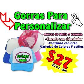 25 Gorra Neón Trailero Esponja Mate Para Personalizar. Jalisco · Gorras  Para Personalizar e7b1520a214