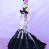 Roupa Vestido Lights, Camera, Veronique Fashion Royalty