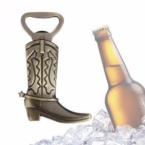 Kit 5 Abridor De Garrafa Cerveja Bota Country