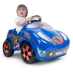 Coche Fire Avengers Electrico 6v Montable Infantil Injusa