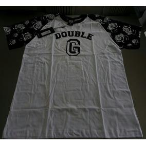 Camiseta Double G Mangas Florais Ref 82401183 Original